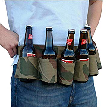 new year party beer belt