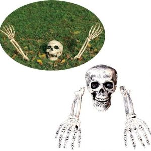 Burried Alive Skeleton Lawn Decor