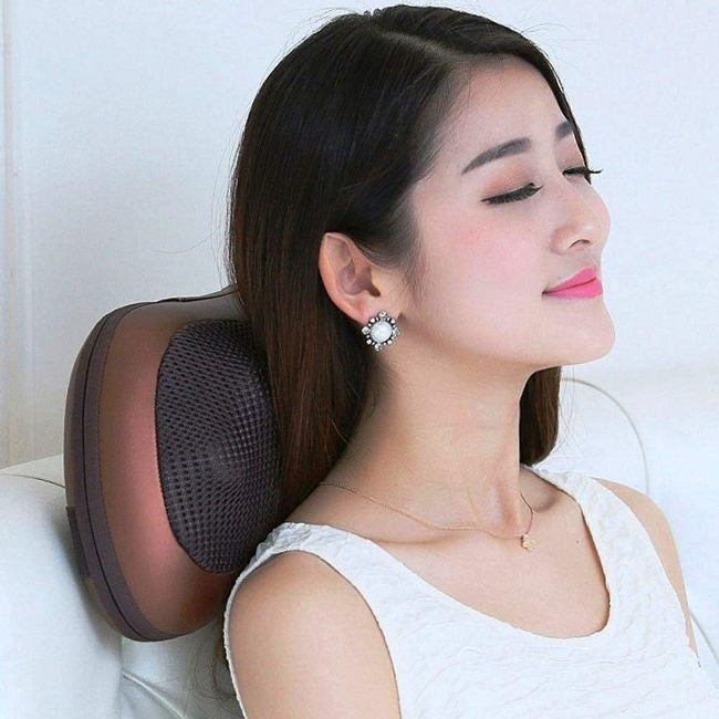Electronic Neck Massager For Car & Home