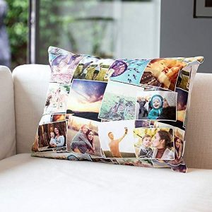 Unique Valentine's Gift For Him Personalized Photo Cushion Pillow