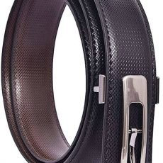 Push Button Men's Belt