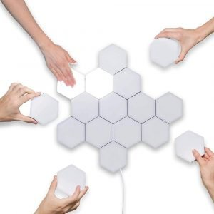 Hexagon magnetic quantum lamp