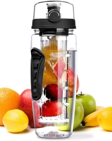 Fruit Infuser Water Bottles.  perfect Christmas gifts for ladies