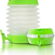 Collapsible Plastic Beverage Dispenser