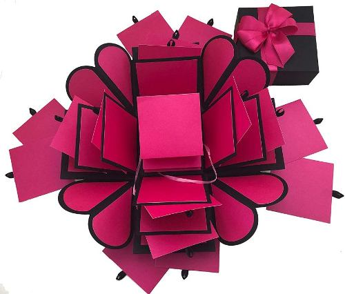 explosion box cute valentine's day gifts