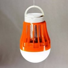 Weird Wolf Logo 3-in-1 Mosquito Zapper Bulb for Indoor and Outdoor Use