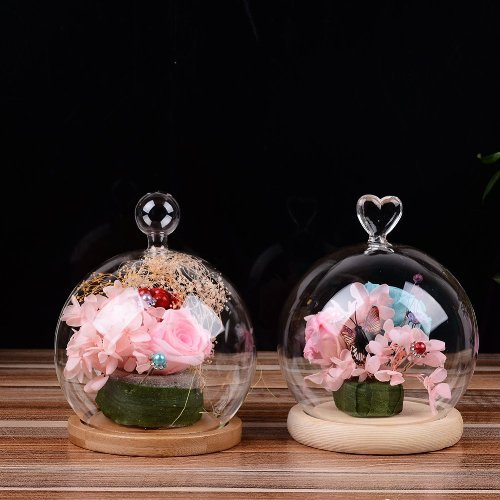 glass dome cute valentine's day gifts