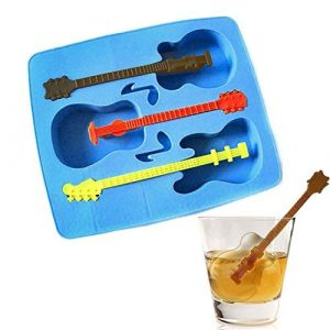 Guitar Shaped Ice Molds