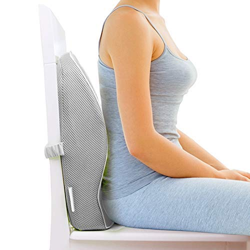 work from home with this lumbar support